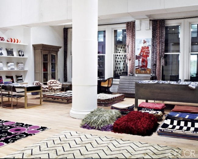 Madeline Weinrib's New York Showroom