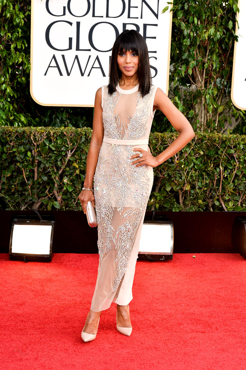 Kerry Washington, 70th Annual Golden Globe Awards