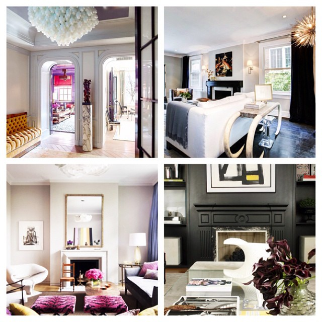 Some favorite pics from my 30-day Instagram challenge #interiors  #modernglamour