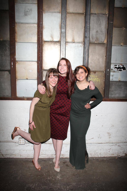 Meredith Dobbs, Katy Sullivan, and Mary Rose Naoum