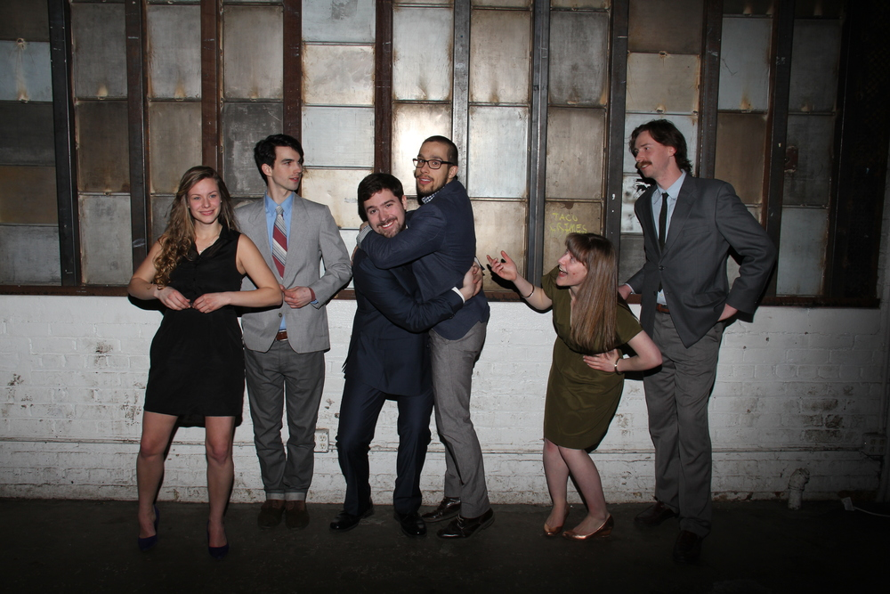The Three Lyons Creative team: Lucia Wylie-Kellermann, Daniel Eggert, Tony Eggert, Michael Lopetrone, Meredith Dobbs, and Mike Wiliams.