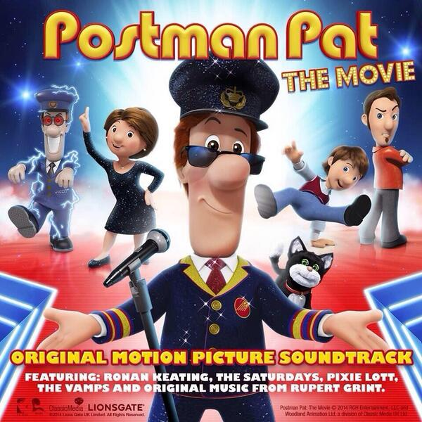 "Postman Pat: The Movie ""Original Soundtrack"" 2013"