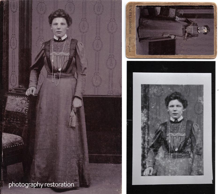 Photography restoration