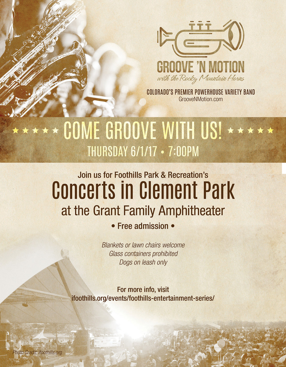 Groove 'N Motion promo poster