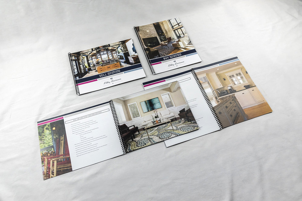 Buyer/Seller resource books for Libby Levinson