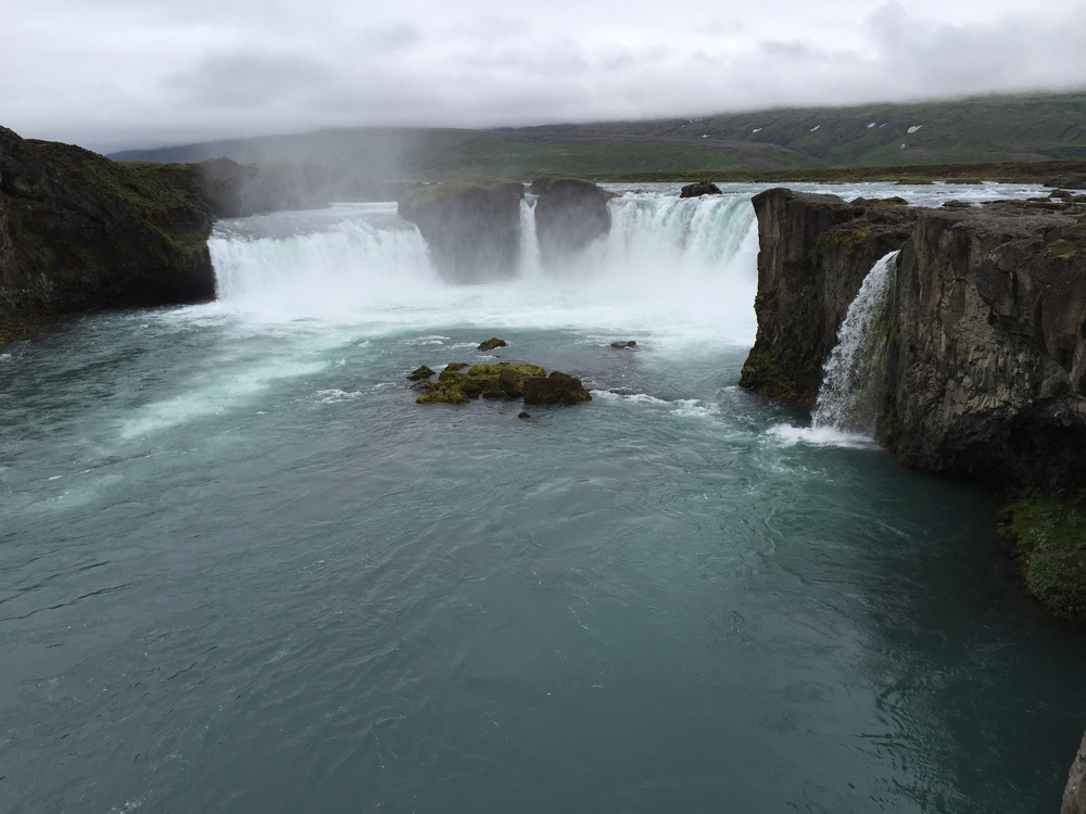 Godfoss Water Fall, Iceland; Photo Credit Charlene Garrett