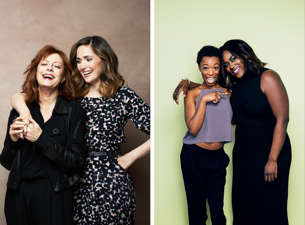 SUSAN SARANDON AND ROSE BYRNE / SAMIRA WILEY AND DANIELLE BROOKS