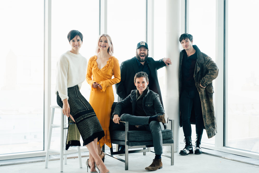 CAST OF FANTASTIC BEASTS