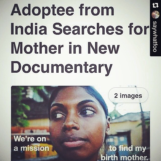 #Repost @saywhatfoo   ・・・  #TBT Big ups to #indiawestnews for writing a article about my documentary.  To check out the article peep the link in my profile. #youfollowthefilm #documentary #indiefilmaking #goa #adoption #presson #adoptee #india