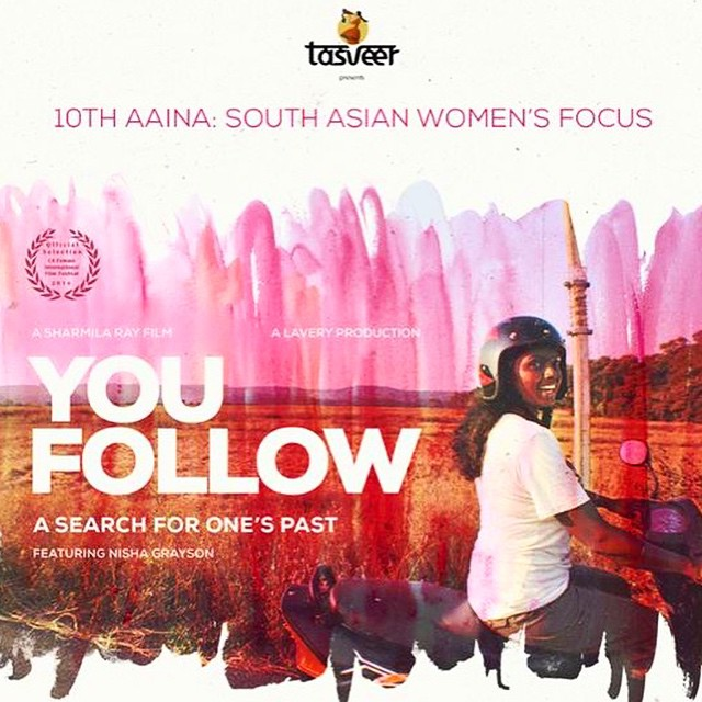 SEATTLE, here we come!! We will be screening YOU FOLLOW: A Search For One's Past on April 25th at the 10th Annual Aaina Festival that celebrates activist and artistic work by South Asian Women. A discussion panel of South Asian Adoptees will follow the film. Please join us at 2pm if you will be in town. #youfollowthefilm #youfollowscreening #filmfestival #aainafestival #southasianwomen #womeninfilms #feminist #femaledirector #femaleproducer #femaleeditor #seattle #washington #passionproject #motorcycle #adoption #adoptionfilm #adoptee #southasianartmuseum #india #indianwomen #indianfilm #adventure #love