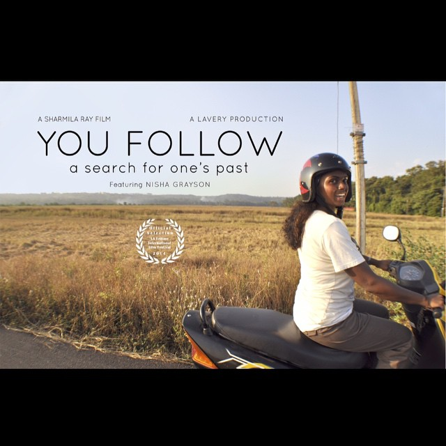 New film poster!! #youfollowthefilm #movie #indiefilm #filmposter #documentary #india #indianfilm #goaindia #goa