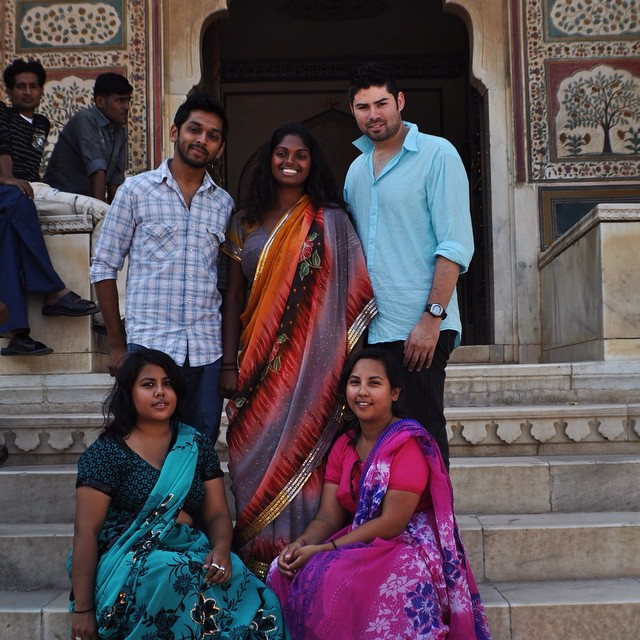 The OG film crew back in 2009! Many things have changed since, but our time together on this adventure will never be forgotten and will always be cherished! 🎥🎬😃🙌 #youfollowthefilm #myindia09 #filmcrew #documentary #films #friendsmakingfilm #diwali #sari #orangesari #pinksari #tealsari #jaipur #rajasthan #americankids #india #indiefilm #indiefilmmaking #travel #travelpics #bestfriends #moviemagic  (at Jaipur, Rajasthan)