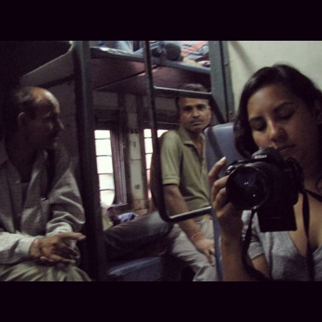 We survived the trains in Mumbai!!  Here is our director, @saywhatfoo shooting B-roll footage. #youfollowthefilm #mumbaiindia #mumbaitrains #india #documentary #films #femaledirector #femaleproducer  #cannon #camera #indian  (at Mumbai, India)