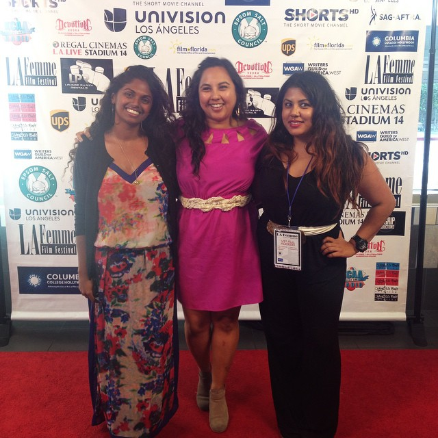 🎥Success!! #youfollowthefilm #LaFemmeFilmFestival 🎥 (at Regal L.A. Live Stadium 14)