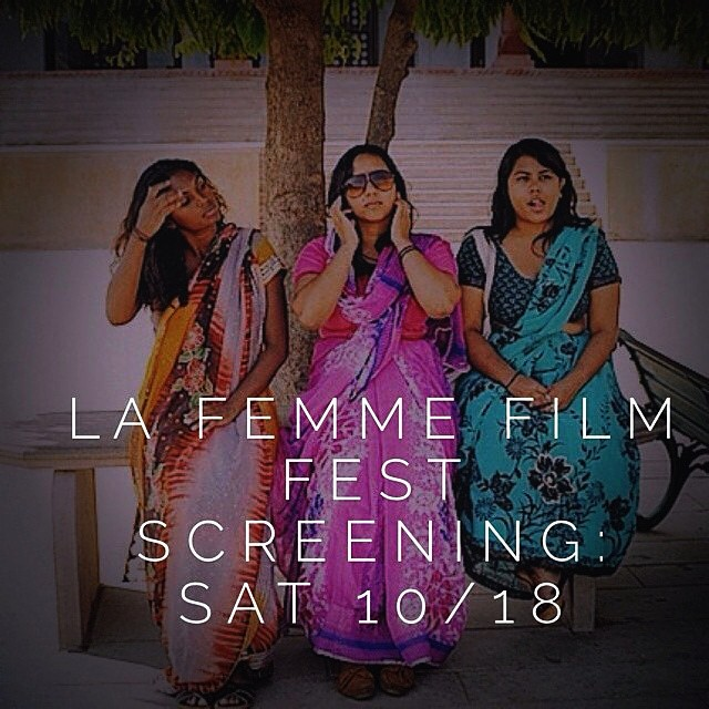 🎥🎥🎥🎥🎥🎥🎥🎥🎥🎥.     If you or someone you know will be in the Los Angeles area this weekend, I personally invite you to join us as we share our film with the LA FEMME FILM FESTIVAL. This is our first film festival so its going to be a special screening for all of us.     To learn more about LA Femme Film Festival, please visit  http://www.lafemme.org/about-us/     We are scheduled to show on Saturday, October 18, 2014 at 2pm. The festival is going to be held at the Regal Stadium 14 LA Live LIVE: 1000 West Olympic Blvd. Los Angeles, CA 90015.     To purchase your $10 ticket(s), please visit  http://www.lafemme.org/tickets/                      Hope to see you there!!   🎥🎥🎥🎥🎥🎥🎥🎥🎥