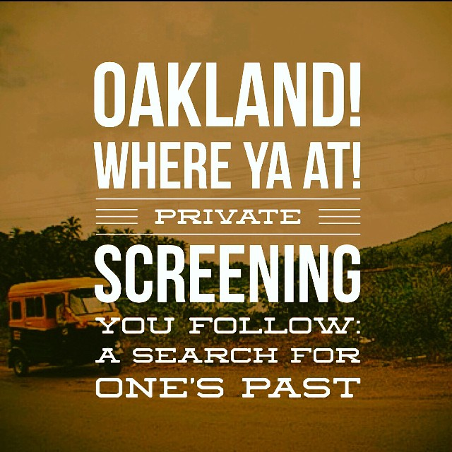 🎥Here we go again!! Pact an Adoption Alliance is hosting an intimate private screening in Oakland tomorrow night (9/18) at 7pm. There are some seats still available so email me at nishagrayson@gmail.com to reserve your seat ASAP and get the address from me! Holla if ya hear me!! I🎥#youfollowthefilm #happyinoakland