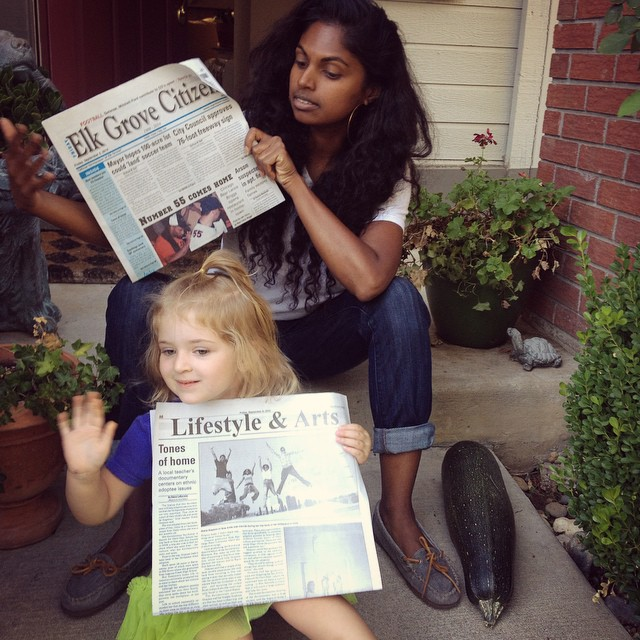 🎥Flash back to last Friday when #youfollowthefilm got recognized in the Elk Grove Citizen!! Little Dylann told me she loved the article! 📰 #fbf @saywhatfoo @lavery232