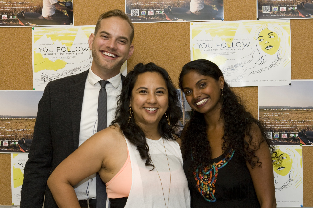 The YOU FOLLOW Team looking damn good!