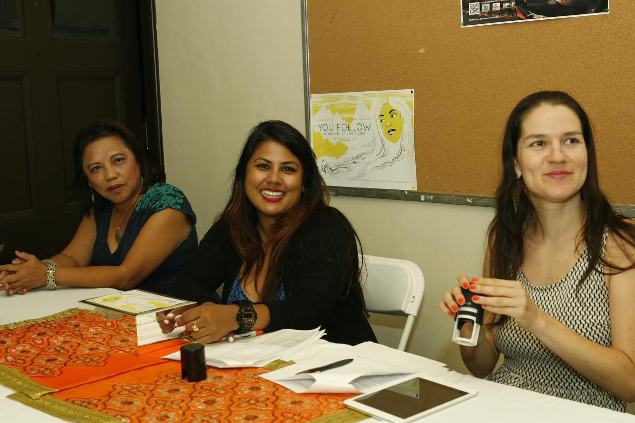 Thank you for the help ladies! Carmela Ray, Reena Ray, and Harmony Bailey