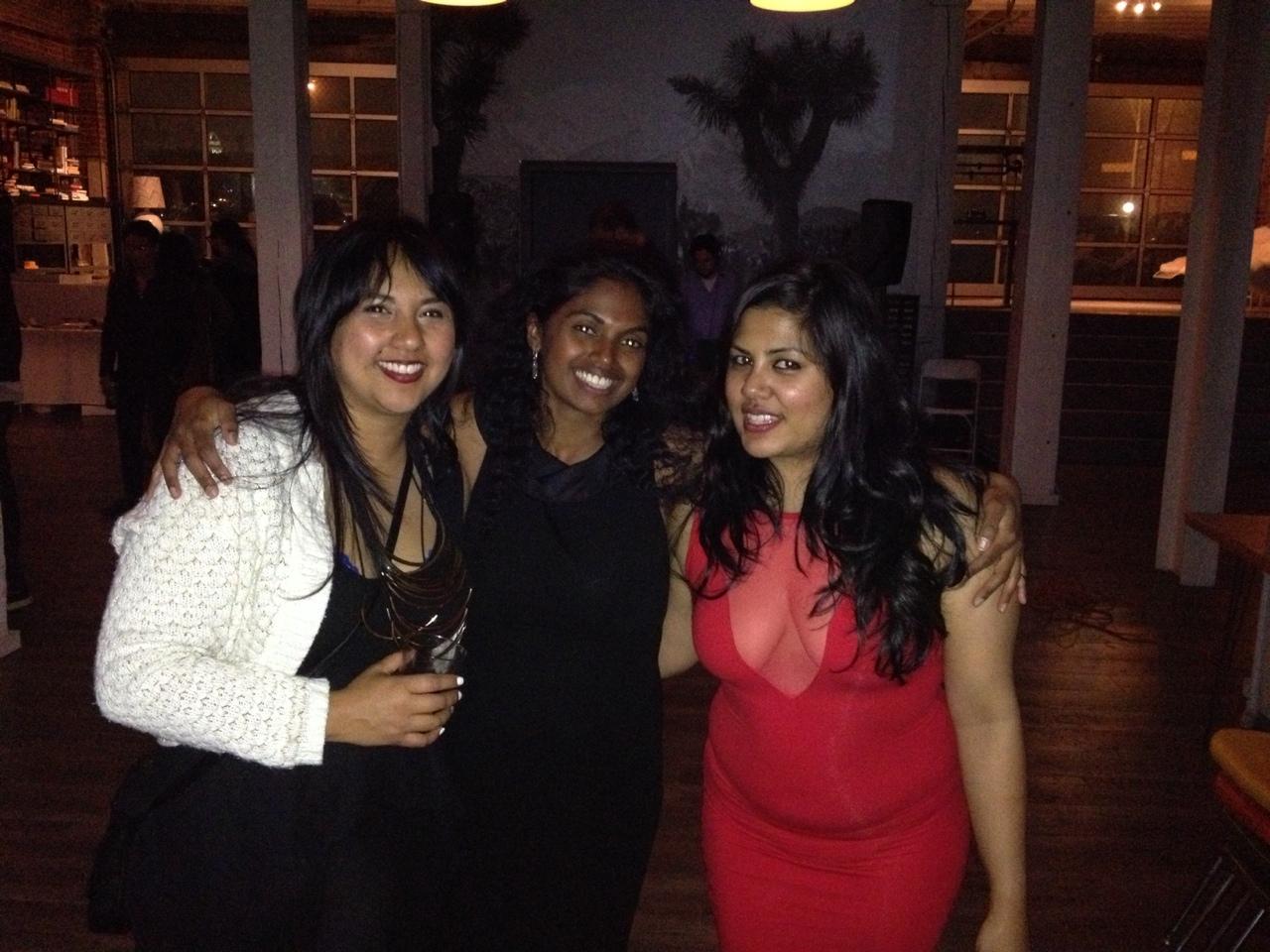 Director, Sharmila Ray. Producer, Nisha Grayson. Cast member, Reena Ray!