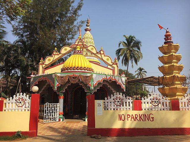 Shri Mahadev Taleshwar Devasthan  #goa #india #bagabeach #hindutemple #lordshiva #youfollowthefilm #travel #home