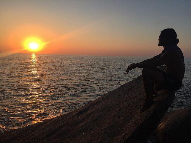 Secret sunset views at Agonda Beach, Goa . . . #youfollowthefilm #india #goa #agondabeach #sunset #spring #arabiansea #silhouette #travel #solotravel #home #birthcountry #adoptee #adoption #adoptionfilm #womeninfilm #adopteevoices