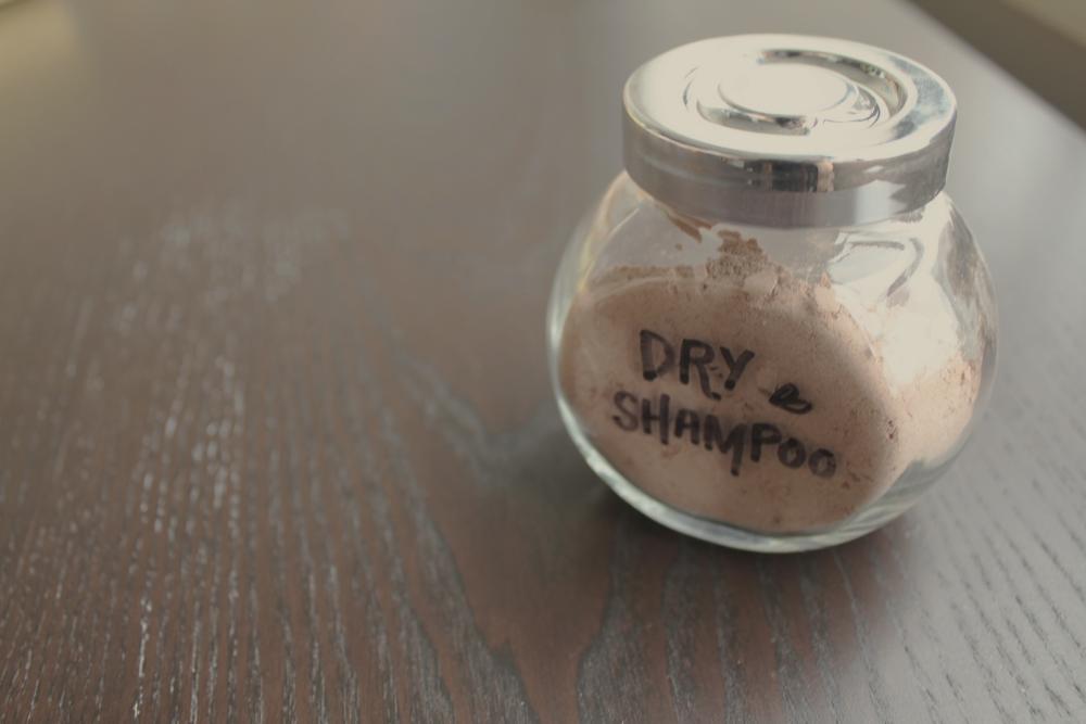 diy all natural dry shampoo recipe