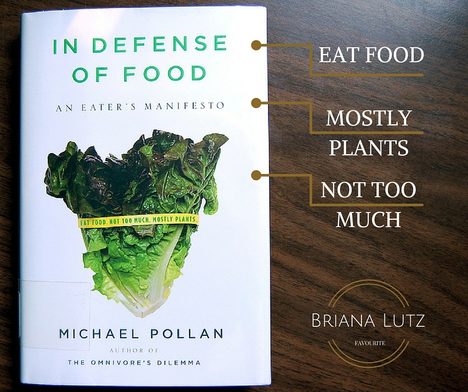 book review in defense of food nutrition simple life