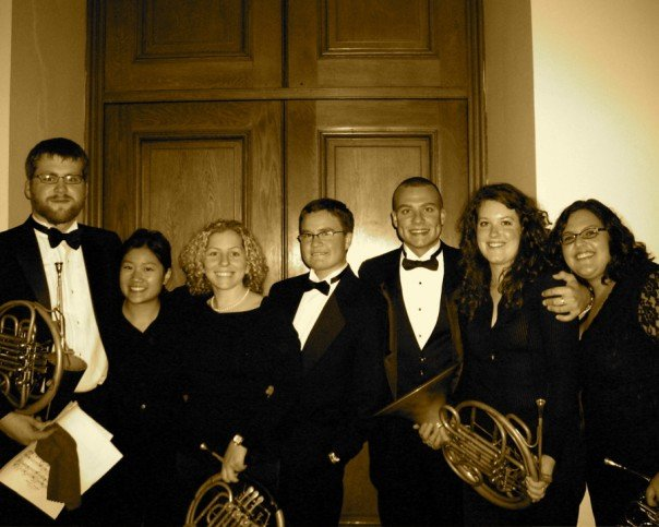 My studio mates at the San Francisco Conservatory in 2007.