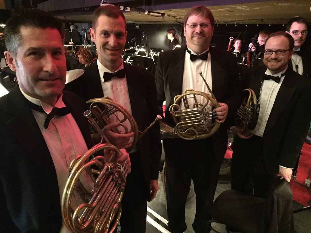 Oregon Ballet Theater Horn Section