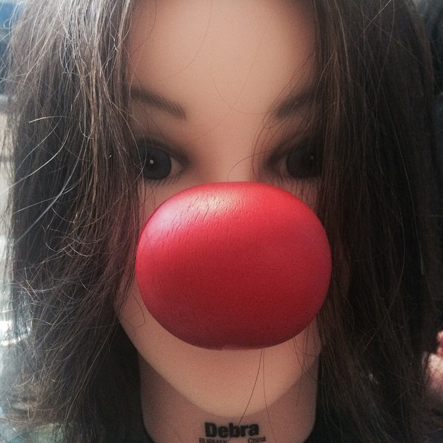 Happy Red Nose Day! #rednoseday