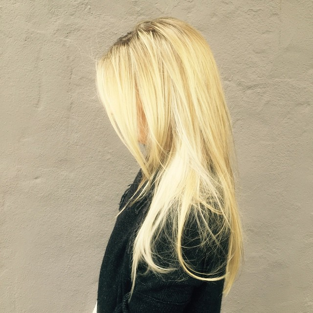 gorgeous balayage by the fabulous Lori. #wellacolor #balayage #blonde #olaplex #oribe