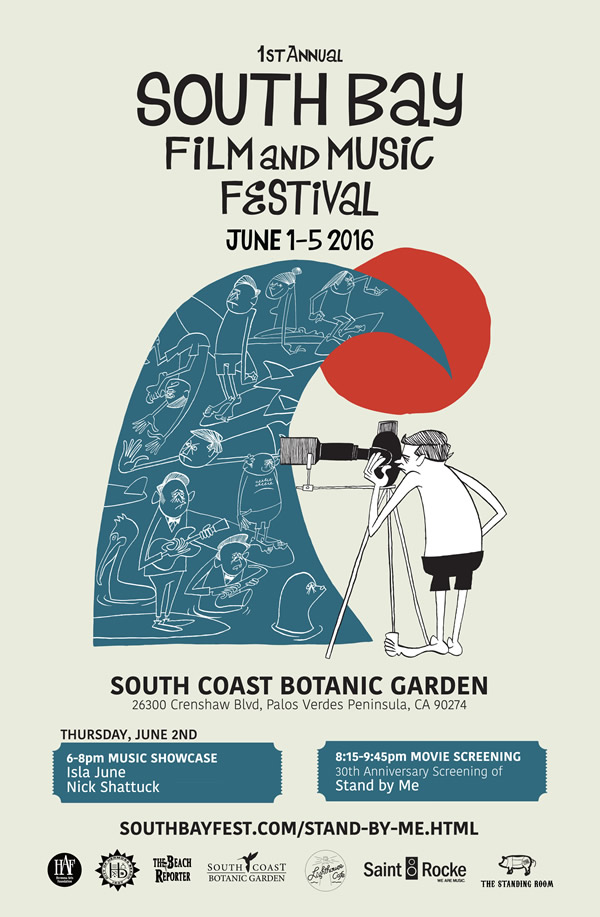 South Bay Film and Music Festival  June 5, 2016
