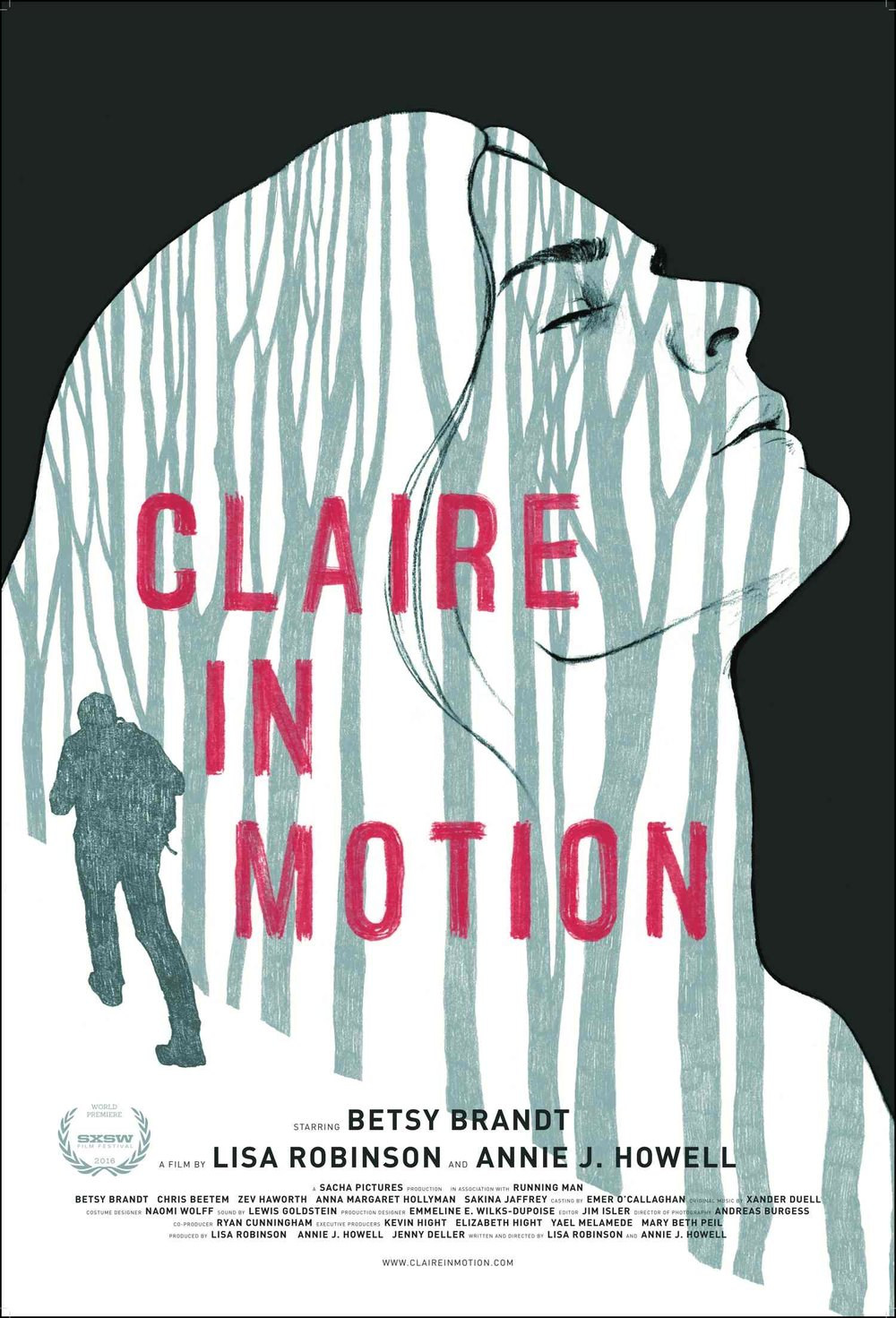 Claire in Motion Theatrical Poster 2