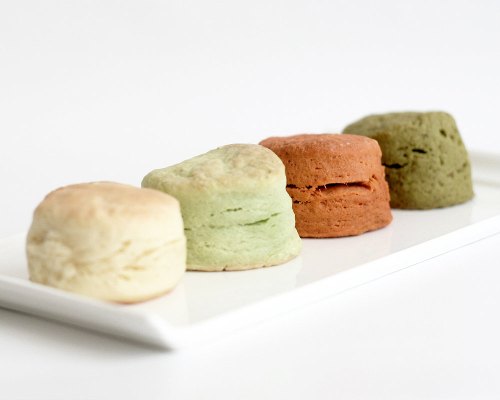 soft scones - Butter / Pandan / Thai Tea / Green Tea( Select one flavour )9pcs 300hkd