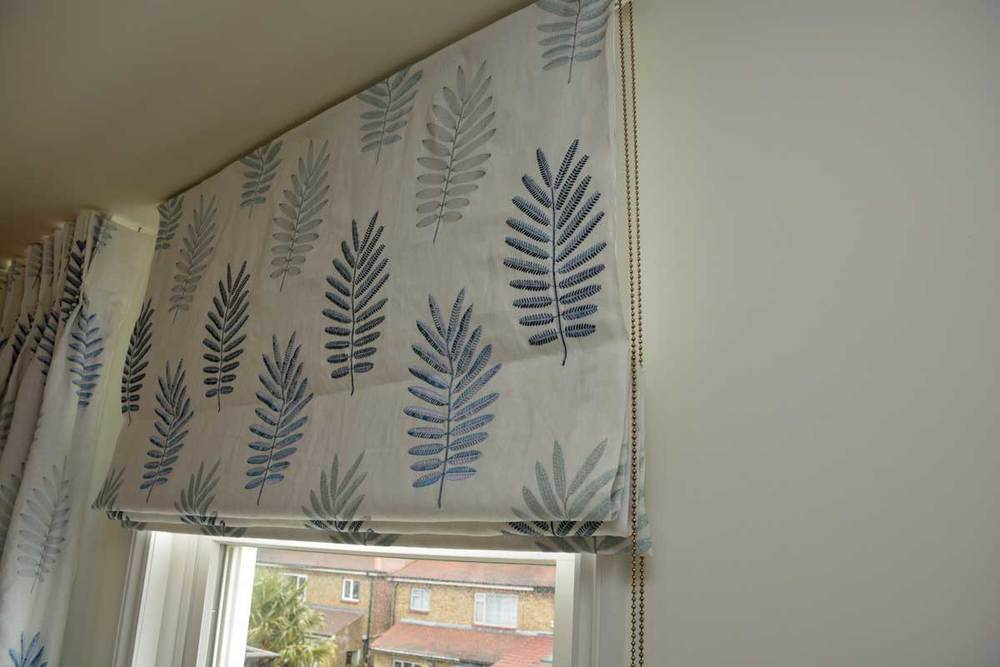 Jane Churchill fabric Roman Blind