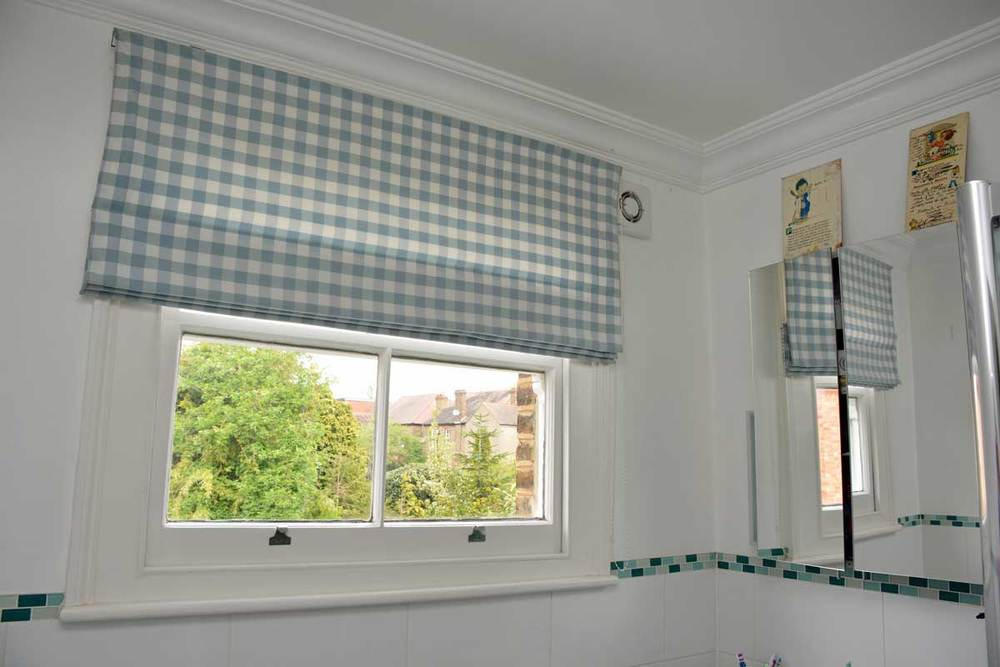 Laura Ashley fabric Roman Blind