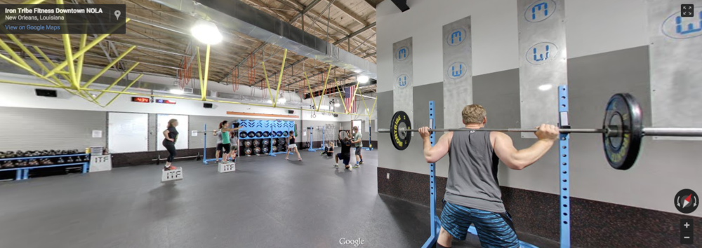 Iron Tribe Fitness - New Orleans   CLICK photo to walk around inside   and then go check them out in person.