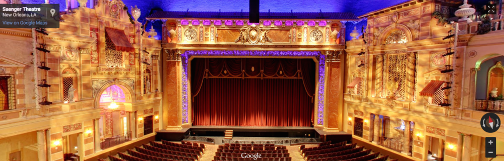 The Saenger Theatre (balcony view) - New Orleans