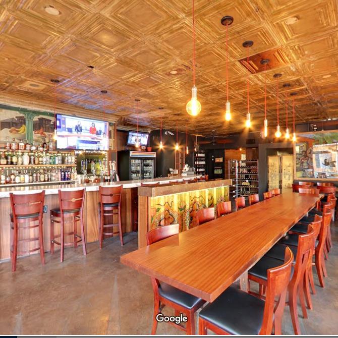 360° Restaurant Interior
