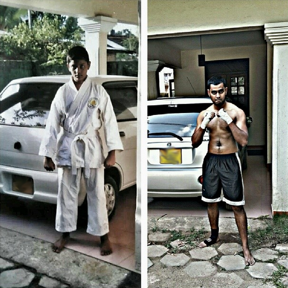 Then and now (2014). 10 years of difference. And the hardest work put in was only during the last few months.