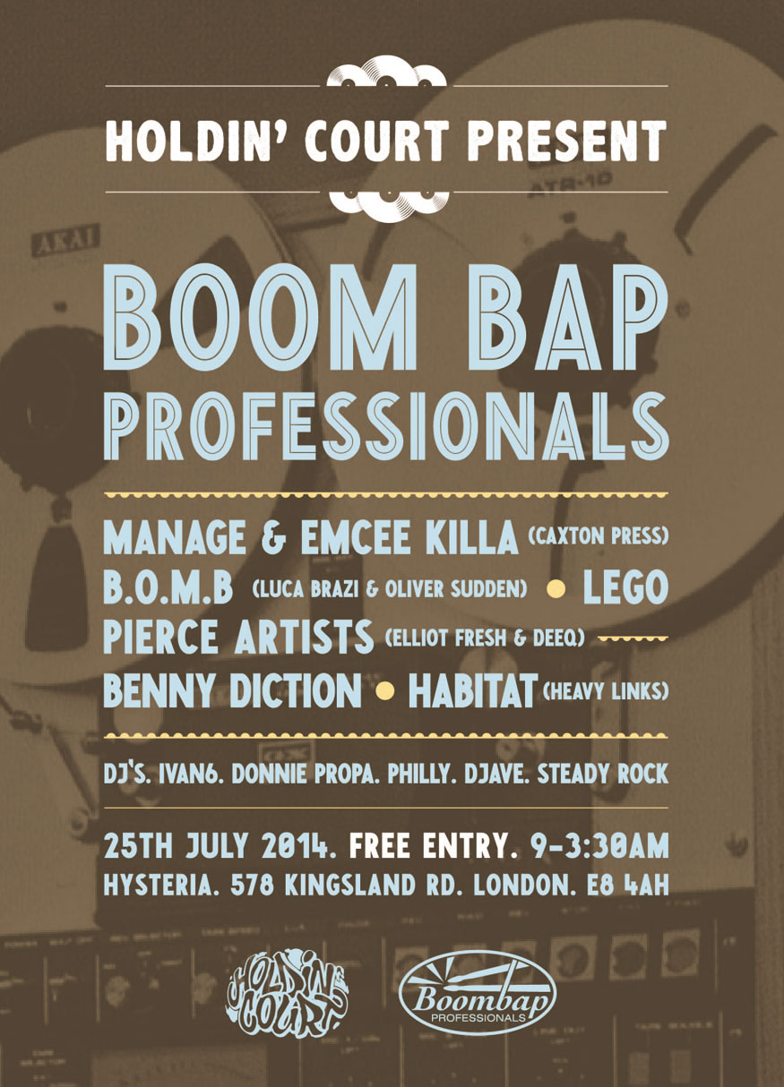 July 25th in Dalston