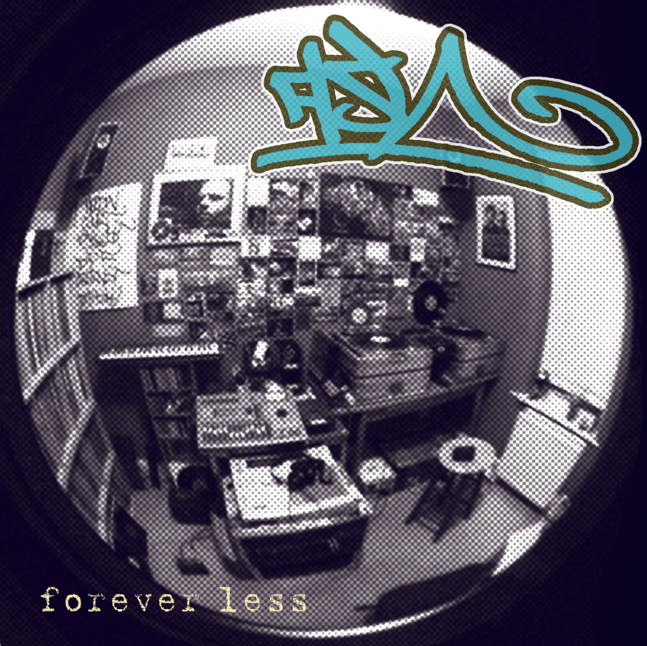 FOREVER LESS  Get yourself a selection of  badly mixed   LO-FI  rap by my mum's favourite producer, dj, graff artist and all round bald-headed, chain-smoking, drunken wasteman and Michael Stipe impersonator, FISH.  FOREVER LESS features verses from CAPPO, DOCTOR ZOOTS, ELLIOT FRESH and TABLEEK out of MASPYKE and there's a few instrumentals to bulk things up a bit.  Well worth a quid and/or a couple of Superking.   Get yours for free  HERE