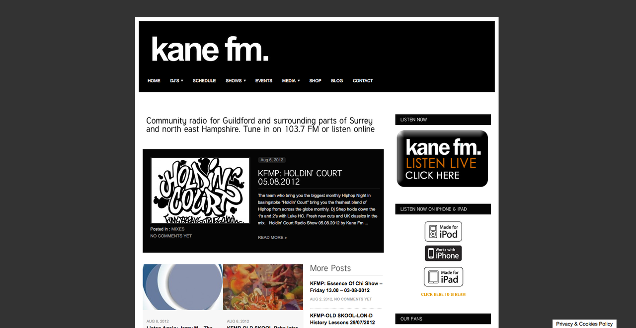 The Holdin' Court Show on Kane FM 05.08.12   The most recent Holdin' Court radio show on Kane FM is now up over on the Kane FM mixcloud.  You can reach the link by heading over to the   www.kanefm.com   main page.   Here is the track listing for you perusal.  As you can see, we have a mixture of both old and new tracks, the majority of which we are proud to add are British.  Everything played was carefully selected by both  Dj Shep  &  Luke HC :   C-Mone - The Rays Micall Parknsun featuring Tiffany Paige - Everyday Heavy Links featuring Cappo, SonnyJim & Chrome - Rap Ambassadors Heavy Links - Bring It Back Heavy Links feat DPF - Coming Through DJ Center featuring Oddisee 0 Leve The City Outside (Chris Read Remix) Prose (Steady & Efeks) - The Class Of '94 Big Toast (TPS Fam) featuring Oliver Sudden - Summertime Drinking Joey Menza - Who Am I (justgot Exclusive) Micall Parknsun - All 4 Hip Hop Micall Parknsun - Me, Myself & Akai Stash Sounds featuring Gee Bag - So Far Away Oliver Sudden - Come Correct Sir Beans - Terror To The Toys Mista Flix - The Baddest Ransom Badbonez - Pump Dat Bass Dirty Treats feat Praverb The Wise - Original Bob James featuring Nas - Nautilus 2011 (Flipout BBoy Edit) Sir Beans - Veto Screamer MCM - Fry You Like Fish (The Gospel Version) 2 Halves - Love For This Yungun - Late Night Mission Mystro - Cockadoodledoo MC Duke featuring Million Dan & MC Mello - Hustlin' Demon Boys - Glimity Glamity London Posse - Money Mad Asher D & Daddy Freddy - We Are The Champions (Dance Hall Mix) Champions Of Nature - Salsa Smurf Oliver Sudden - Call My Name Tyler Daley & Konny Kon - Elevate Piece Of Mind - Rap Phenomenon Kyza - Real Rap Gadget - Mirrored Images Diligent Fingers feat Awakening Dawn - Reflections Mista Flix featuring Tabernacle - Parting Words From The Sanctuary Border Crossing feat John The Ample Soul Physician - Just An Ode Hijack - Style Warriors Revenge