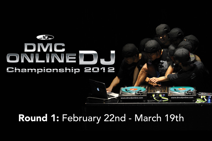 Online DMC Championships 2012   Now the entries are in, you have one week from the closing date shown above to cast your vote on the  Round One 2012 Online DMC  entries.  Each round is 2mins long and voting is very simple and easy to do!    Warning:   To watch all videos you need approx 2hours 10mins (but in the spirit of the competition, it's worth it! )      http://www.dmcdjonline.com/