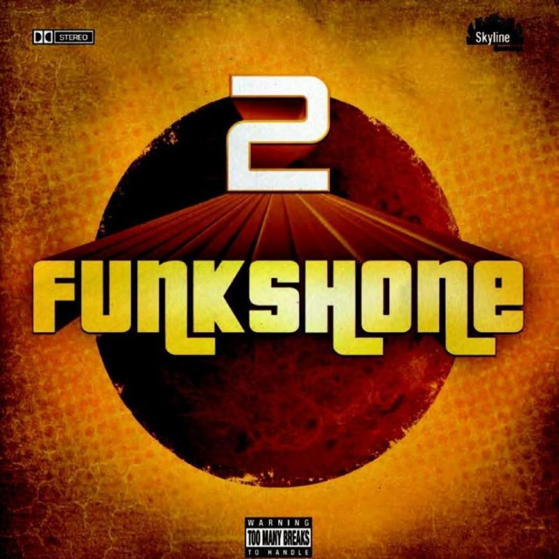 "Funkshone ""2""     SKYLINE RECORDINGS  are proud to release the second album by the amazing   FUNKSHONE  entitled simply '2'. A collection of floor shaking, roof raising, body moving rare groove anthems. Lot of heavy drum and rhythm section with a couple of breaks throw in. Not forgetting uplifting and funky horns, wonderful vocals and a hard driving bass just to keep you grooving. 14 tracks on CD and 12 on the vinyl what more do you need..     We urge you to get yours   HERE  ! The first batch released on Monday  sold out on the same day , the release is currently sitting at #7 in the Amazon Funk chart."