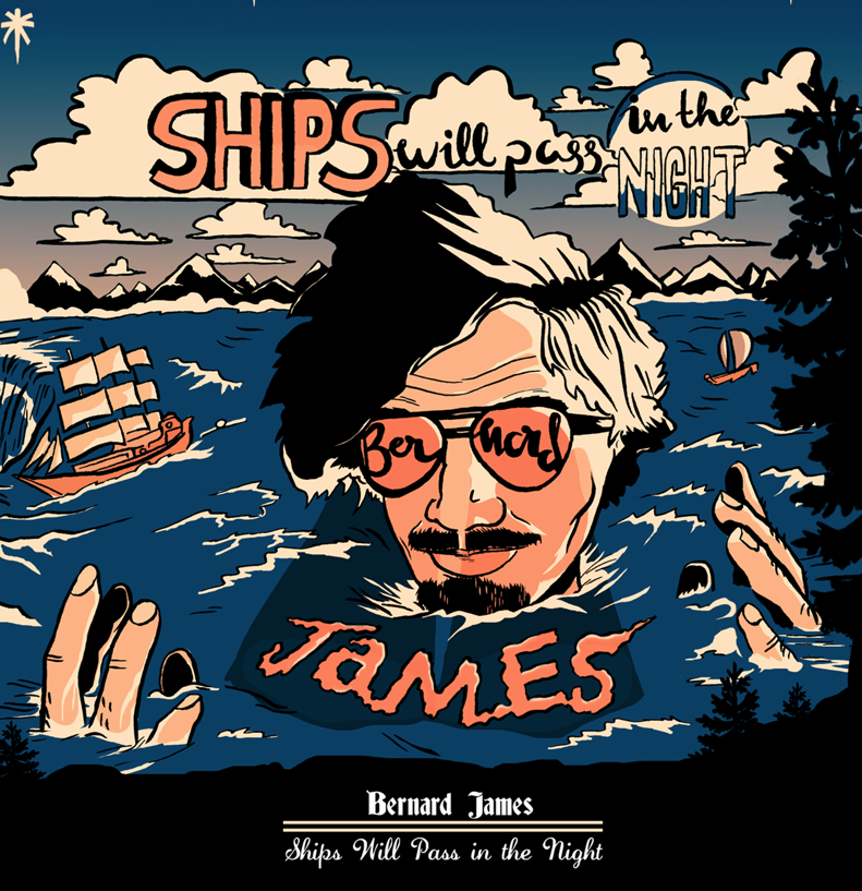 Ships Will Pass In The Night Released last week, this is a solo project by one half of the rap duo Adventures of…  Bernard James comes with some pretty unconventional and most of the time brutally honest lyricism.  Part poetry, part spoken word, part rap and he's from the UK. This won't be for every one, but for those who are interested and intrigued, click HERE