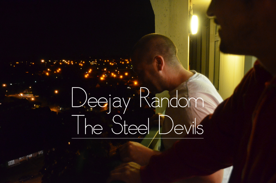 "As is tradition, please briefly introduce yourself and tell those who don't know who you are and what you do!? My name is DeeJay Random. I am a Hip Hop DJ, 4 times U.K. DMC Finalist, Founder of The Steel Devils and I will terrify you, your family, all suckers, biters and toys.   How did you come to form The Steel Devils?  How did you meet one another? I'd known Chud since he was about 12 and he had hung around with me and my brother (Mike Bandoni, Drummer from ""Funkshone"") for aaaaaages. I'd known Jazz T since about 89/90 from local Jams and Hip Hop Parties throughout Surrey. Dixie popped up on the scene about 97ish and I thought that we all thought the same and then decided we should form a crew. It was a no brainer. We were all kinda dope, knew our shit and complimented each others styles in a lot of ways. The Steel Devils were born. So, tell us about the Steel Devils Full Clip show.  How did that start and what made you move toward online radio? I was first offered a slot on Radioactive FM (I had a long history with them from their first days as a pirate station) alongside my friend Mr Stevie C. It was a Drum and Bass show. After a while, I thought it would be an excellent platform for The Steel Devils. We hooked up with Freestyle Fm and The ""Full Clip"" Show was thrust upon the world…This shit was free and we had the whole damn world to throw ourselves at. That was what swung it for me and the rest of The Steel Devils. Who have you had on as a guest so far & which was your most memorable show to date? We have had Cutmaster Swift, DJ Pogo, DJ Woody, DeeFlux, DJ Miracle, Dr Zygote, The Chubby Alcoholic, to name a few. The best show we done, I think, was the re-launch of the show with Cutmaster Swift. He fucking murdered it. He is a fucking genius. Full stop. And recently you mentioned to us that you have a new show on a new station just about to start? What can you tell us about that? Yup, it's the DeeJay Random Sunday Binge on Binge radio.com. It's fortnightly and a selection of stuff to wind up your weekend with. Wanna sampler? Try THIS. Moan about the selection and i'll get fucking rowdy. Enjoy. Which is the best live Hip-Hop event you've been to and which was the best you've been a part of? That's a helluva question…I've been involved in Hip Hop since 1987!!! Best show? Hmmm…Epmd and Stetsasonic was kinda dope…errrr…M.C. Mello, Swift, Pogo, Cookie Crew was kinda dope…ummmmm too many. Im gonna pass on that! Best show I've been involved with? A set I done with Jazzy Jeff, Madskillz and myself. That was it. To warm up a crew for a personnel legend was fucking incredible. The kinda shit you retire after!!! But I didn't…. How do you feel the current state of Hip-Hop in the UK differs from when you first got in to it?  What's changed for the better and what's changed for the worse? U.K. Hip Hop is still dope. Peoples perceptions of it have changed but it's still out there. Nothings really changed. We are all still slept on but, hey!, who fucking cares? You wanna big car?, slags? and not have to get up before midday? Fucking sign on…you ain't gonna get that with being a U.K. Hip hop ""star"". What is you view of Serato? It's a progression. Its dope. It still enables you to use vinyl. Its as close to be labeled a ""Digital DJ"" as I wanna get. Just to clarify, I don't use it…I have nothing against it, I just haven't got around to getting it yet as I don't feel I need to. My back may argue with that though… What's on heavy rotation up in Bork Towers right now? The new King of the Beats singles from Mark B and Danny Spice, Roc Marciano, Celph titled, Guilty Sipson, Random Axe, Pete Rock and Smif and Wessun album…etc etc etc etc etc etc! Can you name your top five create digging spots (without giving away too many secrets)? No. Ok, Where can people listen to you? Freestyle FM, fortnightly on The Steel Devils ""Full Clip"" show, Binge Radio.com, Sensei FM and my residency at King Of The Beats alongside DJ Devastate at King of the Beats…check these pages for more info on facebook here and here too Everything I do ends up on those pages…sets, radio shit, shows… Any shout outs? My older ""Brothers""-The Enforcers (Cutmaster Swift, DJ Pogo, DJ Biznizz), My Bro, Funkshone, DJ Dexter, My Fam-King Of the Beats crew-Pritt Kalsi…Sparkii Ski…The4ce…DJ Devastate…Keith…Malcolm, The Steel Devils (Jazz T, DJ Dixie, DJ Chud), Stevie C, Diversion Tactics, Kane FM, Freestyle FM, Binge Radio.com, Sensei FM and Jda Kut, Naba Napalm, Cypher Skills, Koze, The Scratch Perverts (Primecuts, Tony Vegas, Plus One), The mixologists (DJ GO and Benni G), My Daughter, The Pooface…man…I'm gonna be here for hours doing this! Hey! Shouts to ALL of you I work with, knock around with and just generally get up to fuckery with… and never forgetting all of you who support me. You're all Fam."
