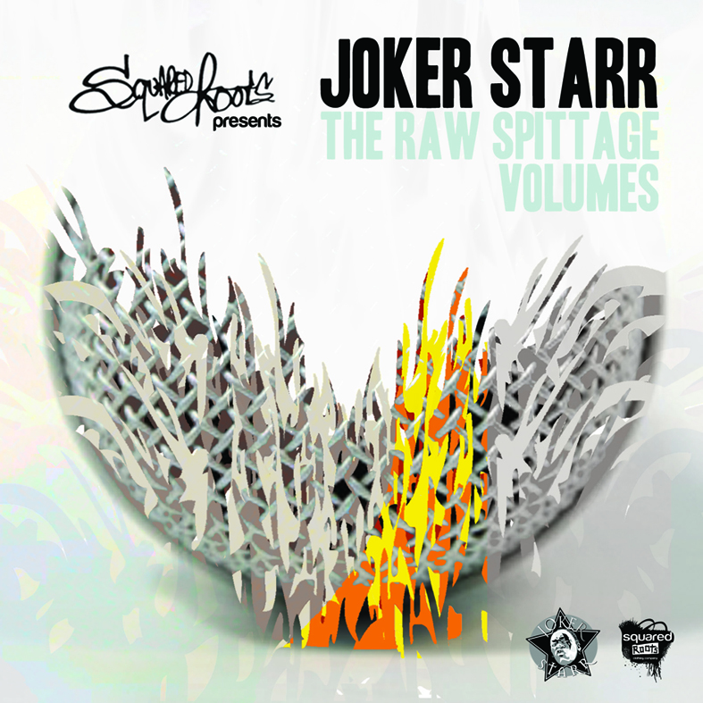 Joker Starr - Raw Spittage Volumes                                                                           From the Flukebeat Bandcamp Page:   Raw Spittage Volumes is a mixtape i put out on CDR around 2003 - 2004. A  collection of tunes and freestyles that may be familiar to you over the  years. I thought it be best to make more of my music available for free  before i start charging yall again. Besides it free and its as dope as i  thought it was back then so enjoy :)    Go get your copy for FREE  here  & school up on some of Joker Starr's Back catalog..