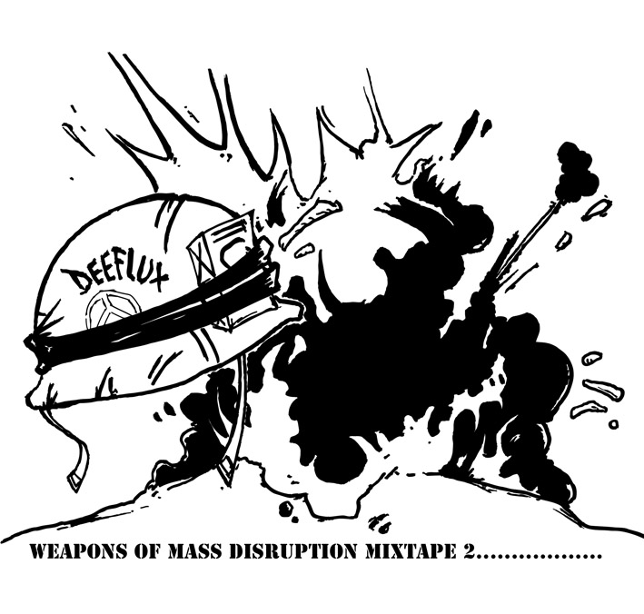 "Deeflux has just dropped Weapons of Mass Disruption Mixtape 2, the anticipated follow up to Mixtape 1.  Yet again, the distinctive rap styles are delivered over your favourite instrumental beats.  This download can be found for free over on the link below. Deeflux describes the projects as him simply ""dropping science over a whole host of classic beats from the achieves."" We can confirm that a third installment in this series to follow at some stage as well as two albums: Deeflux & Louis Unseen – 1984 and Natural Selection – Rhythm by Numbers both scheduled for release in early 2011. http://www.mediafire.com/file/qh5q08pb18q59qc/Weapons%20of%20Mass%20Disruption%202.zip"